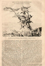 LES AVENTURES DU BARON DE MUNCHHAUSEN PRESS ARTICLE 1867