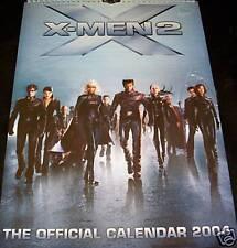 X-Men 2 Calendar 2004 New + Orig. Packaging Marvel Comics