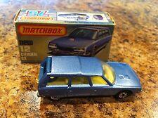 Matchbox Car 75 Lesney England #12 Citroen CX 1979 Original Box