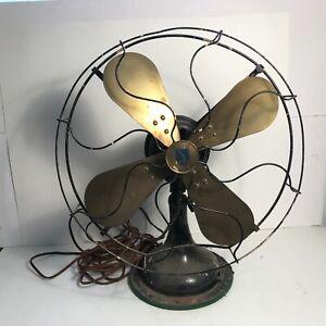 Antique 16.5 inch electric fan Graybar quality successor Western Electric works