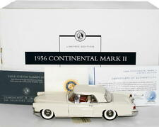 FRANKLIN MINT 1956 Lincoln Continental Mark II Diecast 1:24 LE #419 / 500
