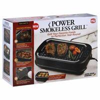 Tristar Power Smokeless Indoor Electric Grill - Black UPC 752356822989 BRAND NEW
