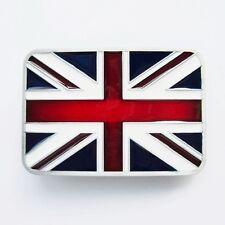 * Union Jack Buckle Gürtelschnalle Punk Rock GB Flagge Fahne  * 261