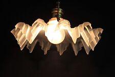 Traumhafte Jugendstil Röckchenschirm Lampe - Hängelampe