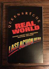 "Queensryche ""Real World"" Cassette Single Original 1993 w/ ""Last Time In Paris"""