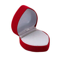 Ring Storage Box Folding Easy to Use  for Birthday Party   Useful  Red
