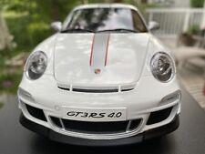 "AUTOart 1:18 Porsche 911 GT3 RS 4.0 ""Kommunikationsfarbe""  by RACEFACE-MODELCARS"