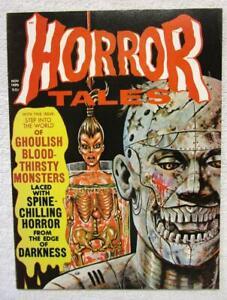 HORROR TALES  V.2 #6  November 1970    Eerie Pub.