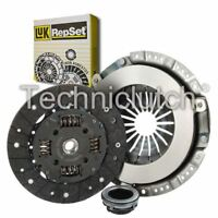 LUK 3 PART CLUTCH KIT FOR VAUXHALL VECTRA ESTATE 1.8I 16V