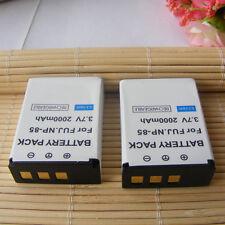 2x Battery for FUJIFILM NP-85 CB-170 NP-170 084-07042L-062 084-07042L-075 BC-85