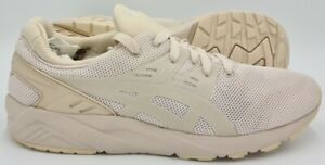 Asics Gel Kayano Evo Low Trainers HN6AO Cream/Off White/Peach UK9/US10/EU44
