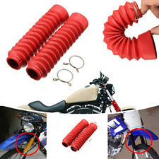 Universal front Fork of the motorcycle cover Dust Gaiters Crocodile Boots Shock