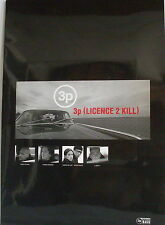 3p - Licence to Kill - CD in Booklett - Sammlerstück