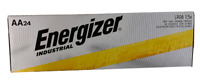 Energizer Industrial Batteries EN91 AA 24 Pack NEW