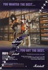 Kiss UK 'Guitarist' Trade Press advert