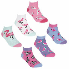 5 pairs of Spots /& Stripes Girls Trainer socks