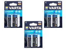 6x Varta 4914 LR14 Longlife Power C Batterie Alkaline MN1400 1,5V (6 Batterien)