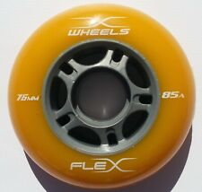 wheels for rip-stick, flex-board or wave-board with bearings abec 9 Yellow