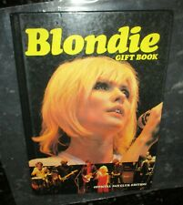 Blondie 1980 Gift Book Fan Club Edition Debbie Harry 48 Pages Photos Near Mint