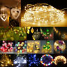 Battery Powered LED String Fairy Lights Christmas Wedding Party Garden Decorate