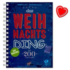 Das Weihnachts Ding - Kultliederbuch - Edition DUX - DUX55 - 9783868492996