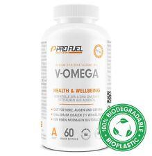 Omega 3 Kapseln 1000mg vegan aus Algenöl - 600 mg DHA + 300 mg EPA - 60 Kapseln