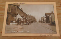 Nostalgic Sheffield postcard Crookes c1920 Card produced by  Hedgerow publishing