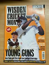 WISDEN CRICKET MONTHLY MAGAZINE (AUG 1999) - YOUNG GUNS ALEX TUDOR & CHRIS READ