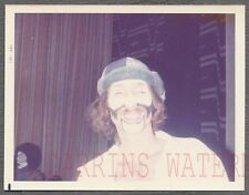Vintage Photo Man w/ Unusual Halloween Costume Clown Makeup 742155