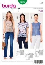 Burda Style Sewing Pattern - 6525 - Misses' Blouse 8-20
