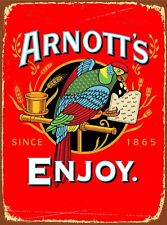 Tin Sign  Metal ``ARNOTTS BISCUITS``