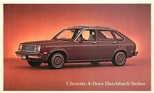 1979 CHEVROLET CHEVETTE 4-DOOR HATCHBACK SEDAN ADV. CHROME P/C