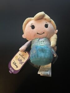 Hallmark Itty Bittys Disney Frozen princess Elsa NWT Surface Washable