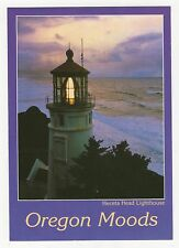 Heceta Head Lighthouse Oregon Coast Usa Postcard 350a ^