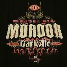 """Mordor Dark Ale"" Lord of the Rings Hobbit Women's XXXL Shirt Teefury"