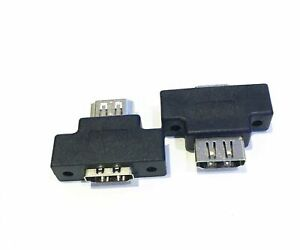 HDMI Female  to HDMI Female  Adapter Connector with Panel Mount