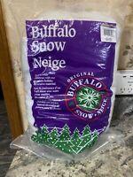 Original Buffalo Snow 14 Oz Fake Snow for Christmas Train Villages  USA