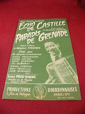 Eco di partizione di Castille Besson paradiso di Grenade Armand Tournel