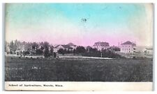 Early 1900s School of Agriculture (Now U of M- Morris), Morris, MN Postcard