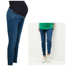 Maternity New Look Over Bump Skinny Jeans Blue Sizes 8 - 18 Leg 26 - 29
