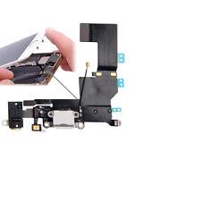 iPhone 5S Dock Connector Original Lightning Audio Kopfhörer Lade Buchse Weiß