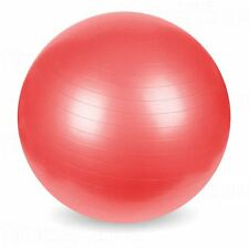 Exercise Gym Yoga Swiss Ball Fitness Pregnancy Birthing Anti Burst 65cm Red