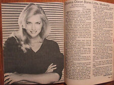 1981 St. Louis Post-Dispatch TV Mag (Donna Dixon/Richard Thomas/Berlin Tunnel 21)