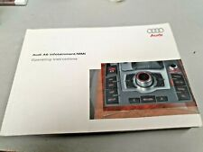 2004 AUDI A6 InfoTainment MMI  Original Factory Owners Manual