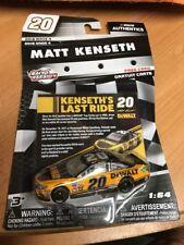 New! Matt Kenseth 1/64 #20 Dewalt Last Ride 2018 Nascar Authentics Wave 4
