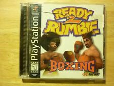 Ready 2 Rumble Boxing Playstation PS1 **COMPLETE** *CIB**