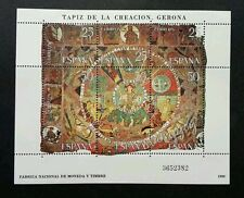 *FREE SHIP Spain Tapestry Of Creation 1980 (miniature sheet) MNH
