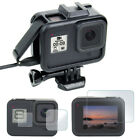 Protective Frame Housing Case  Screen Film Protector for GoPro Hero 8 Black