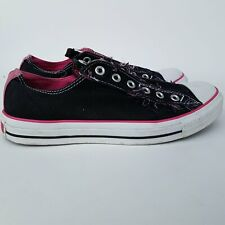 Converse All Star Pink/Black Shoes Size Mens 8/Womens 10/UK 8/EUR 41.5/Japan 26.