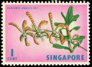 SINGAPORE 62 - Archachnis Maggie Oei Orchid (pb37303)